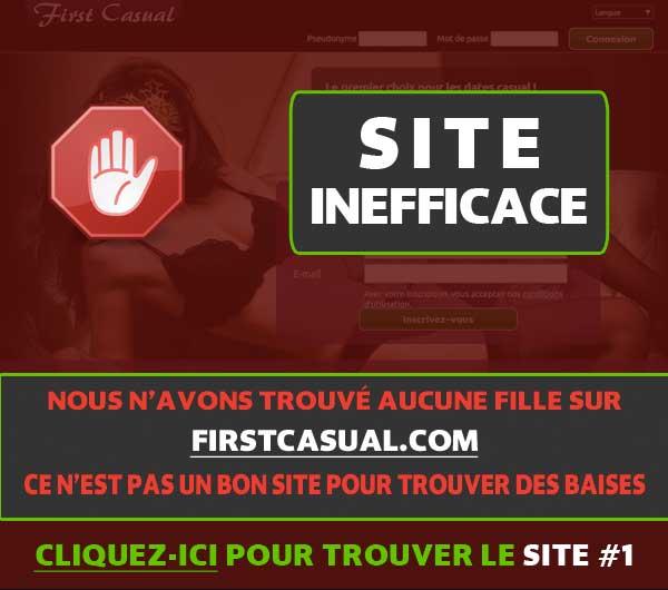 est-ce que FirstCasual.com fonctionne?