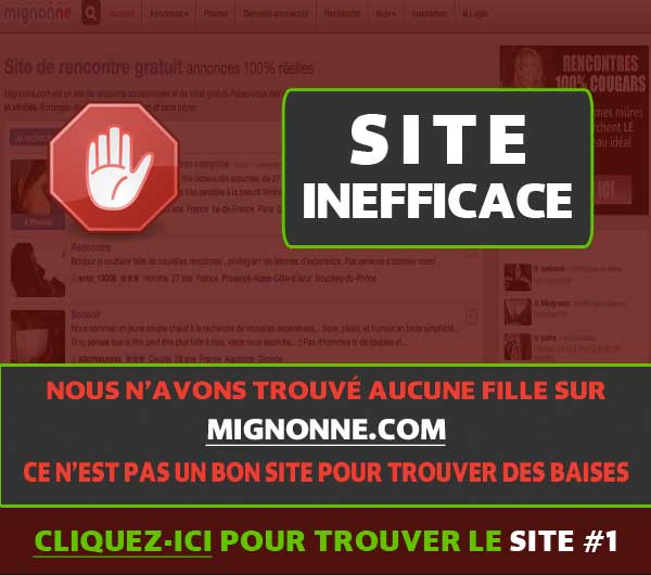 est-ce que Mignonne.com fonctionne?